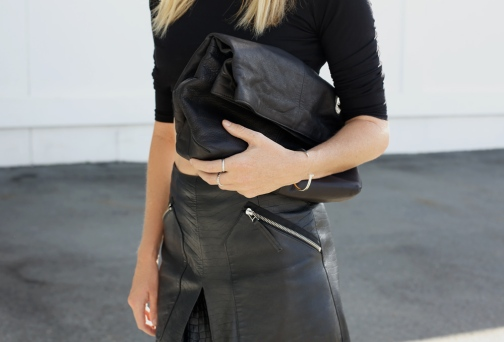 Black-Leather-Skirt-Crop-Oracle-Fox