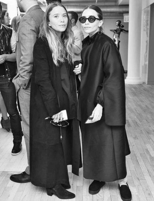 Mary-Kate Olsen, Ashley Olsen - 4/30/2015 - - The Spring Bi-Annual Membership Meeting at the CFDA in New York on April 30, 2015.  Photo Credit: Neil Rasmus/BFA.com *** Please Use Credit from Credit Field ***